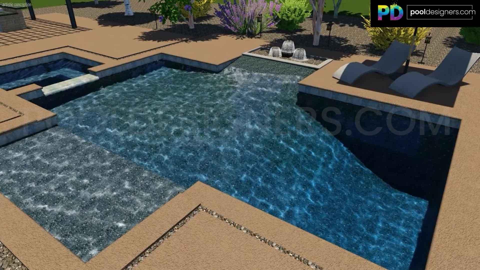 Pool Designers Buy 3d Pool Designs Online 3d Swimming Pool Design